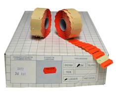 Hinnoittelukoneen etiketti BLITZ 26x12 - Hinnoittelukoneen nauhat ja väritelat - 107727 - 1