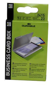 Käyntikorttikotelo 20kortille DURABLE - Käyntikorttien säilytys - 103077 - 1