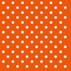 Lautasliina 33x33cm dots orange fsc mix - Servietit ja lautasliinat - 143827 - 1