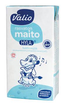 Maito 0,5L Hyla VALIO UHT - Maidot ja kermat - 128967 - 1