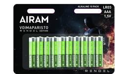 Paristo Airam LR3 AAA alkaline Rendel - Paristot - 153947 - 1