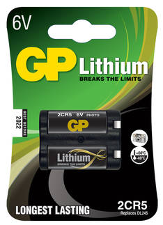 Paristo GB 2CR5 DL245 Litium 6V - Paristot - 151367 - 1