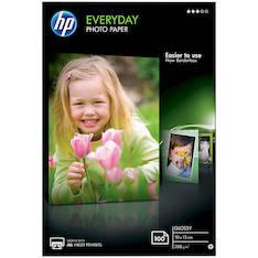 Photopaperi 10x15 200g HP Everyday - Valokuvapaperit - 116727 - 1