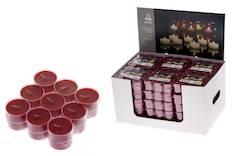 Polar lämpökynttilä 18kpl burgundy - Kynttilät, lyhdyt ja tarvikkeet - 143007 - 1