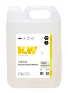 Puhdistusaine desinfioiva 5L KW Desiplus - Pesu- ja puhdistusaineet - 151017 - 1