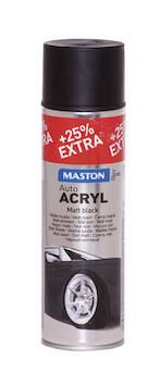 Spraymaali autoacryl 500ml - Maalaustarvikkeet - 136367 - 1