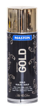 Spraymaali gold 400ml - Maalaustarvikkeet - 136307 - 1