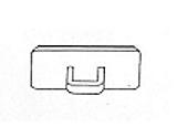 Tarranappi 14x25mm - Esitetelineet ja tarvikkeet - 131697 - 1