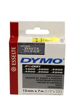 Tarranauha DYMO 12mmx7m 45020 - Tarra- ja kohokirjoitinteipit Dymo - 104147 - 1