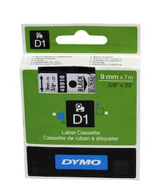 Tarranauha DYMO 9mmx7m 40910 - Tarra- ja kohokirjoitinteipit Dymo - 104047 - 1