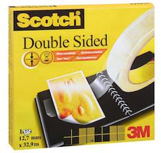 Teippi SCOTCH 665 12mmx33m - Kaksipuoleiset teipit ja kiinnitystarrat - 111937 - 1