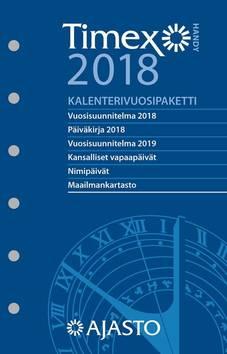 Timex handy -kalenterivuosipaketti 2018 fsc - Ajasto kalenterit - 152667 - 1