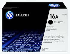 Värikasetti HP 16A Q7516A laser - HP laservärikasetit ja rummut - 117557 - 1