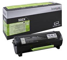 Värikasetti LEXMARK 502X laser - Lexmark laservärikasetit ja rummut - 131647 - 1