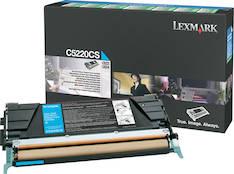 Värikasetti LEXMARK C5220CS laser - Lexmark laservärikasetit ja rummut - 118217 - 1