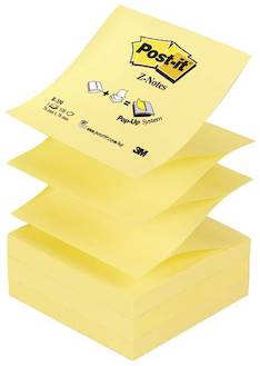 Viestilappu 76x76mm POST IT Z-note - Viestilaput ja telineet - 102037 - 1