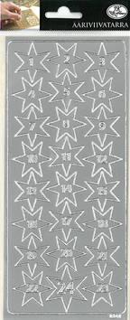 Ääriviivatarra kalenterinumerot - Tarrat ja tarrakirjat - 153497 - 1