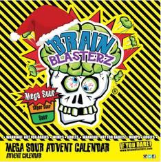 Joulukalenteri 100g Brain Blasterz - Makeiset - 153657 - 1