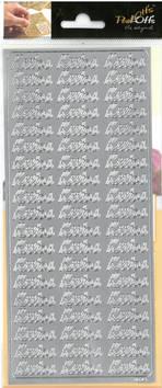 Ääriviivatarra kiitos - Tarrat ja tarrakirjat - 135997 - 1
