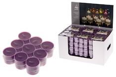 Polar lämpökynttilä 18 kpl  violetti - Kynttilät, lyhdyt ja tarvikkeet - 143008 - 1