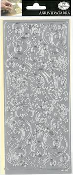 Ääriviivatarra joulukiekura - Tarrat ja tarrakirjat - 148958 - 1
