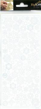 Ääriviivatarra lumihiutale - Tarrat ja tarrakirjat - 143428 - 1