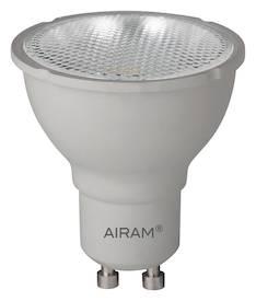 Airam led 6w gu10 3-step himmen. 480cd/265lm, 25 000h, - Varalamput ja loisteputket - 139458 - 1