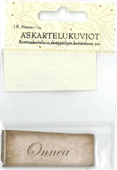 Askartelukuvio onnea nostalgia - Askartelutarvikkeet - 136058 - 1