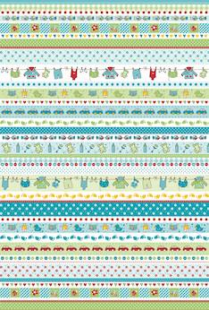 Baby borders -kartonki a4, 200 g - Askartelutarvikkeet - 137428 - 1