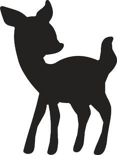 Bambi kuvioreijittäjä l - Askartelutarvikkeet - 137598 - 1