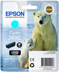 EPSON T2632 mustesuihku 26XL - Epson mustesuihkuväripatruunat - 137068 - 1