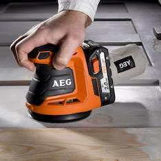 Epäkeskohiomakone bex18 125 es AEG - Brändi sähkötyökalut - 145678 - 1