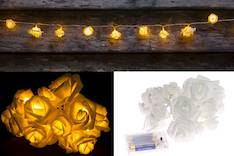 Finnlumor paristovaloketju ruusu - Jouluun valot,koristeet,tekstiilit - 144728 - 1