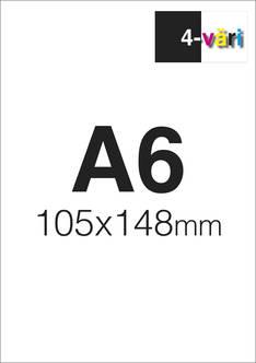 Flyer A6 4/4 - Painetut flyerit - 151618 - 2