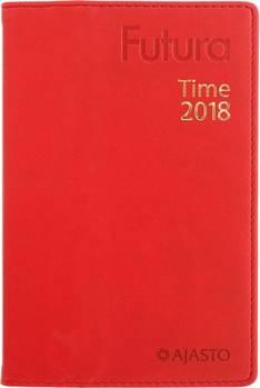 Futura time, punainen - Ajasto kalenterit - 152608 - 1