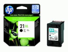 HP 21XL C9351CE mustesuihku - HP mustesuihkuväripatruunat - 121638 - 1