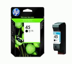 HP 45 51645AE mustesuihku - HP mustesuihkuväripatruunat - 100528 - 1