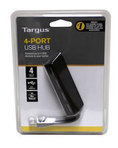 HUB TARGUS 4-port USB - Muut it- ja ergonomiatarvikkeet - 127718 - 1