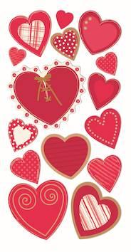 Hearts 2 -tarra-arkki - Askartelutarvikkeet - 137238 - 1