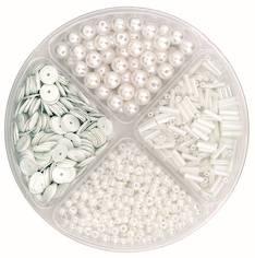 Helmilajitelma 30g 90x10mm valkoinen - Askartelutarvikkeet - 137718 - 1