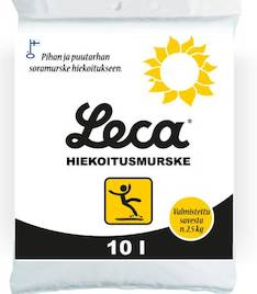 Hiekoitusmurske Leca 10L - Kiinteistövarusteet  - 145468 - 1