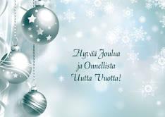 Joulukortti 2-os liiketervehdys - Postikortit,lahjakortit,adressit - 133838 - 1