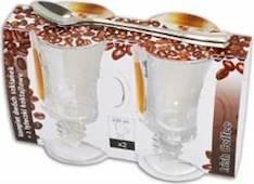 Juomalasit 2kpl irish coffee 230ml + 2 lusikkaa - Astiat ja aterimet - 139898 - 1
