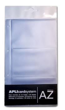 Käyntikorttikansion lisätaskut APLI - Käyntikorttien säilytys - 127318 - 1
