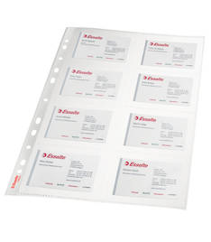 Käyntikorttitasku A4/8-os ESSELTE - Muut taskut - 103298 - 1