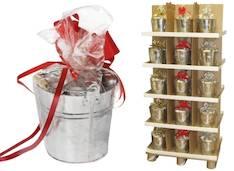 Lämpökynttilä sanko, 110 kynttilää - Kynttilät, lyhdyt ja tarvikkeet - 133318 - 1