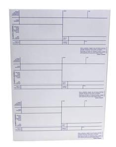 Laskutilisiirto laserarkki A4 esipain3/3 - Lomakkeet - 108588 - 1