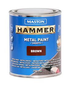 Maali hammer sileä 750ml - Maalaustarvikkeet - 136388 - 1