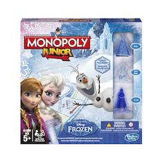 Monopoly Junior Frozen Edition peli - Muut pelit - 146418 - 1