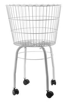 Myymäläkori pyörillä - Esillepano- ja varastointihyllyt - 142668 - 1